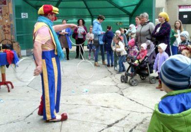 Праздник в детской поликлинике